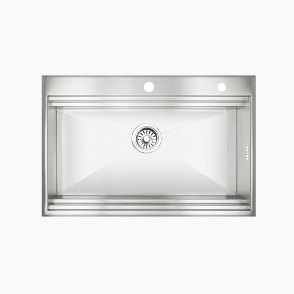 Topmount Single Bowl Sink -A7650F2X