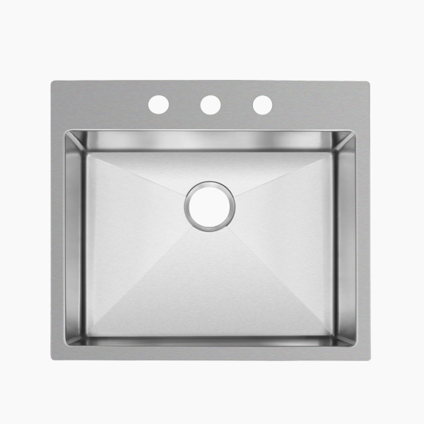 Topmount Single Bowl Sink-AR2522D