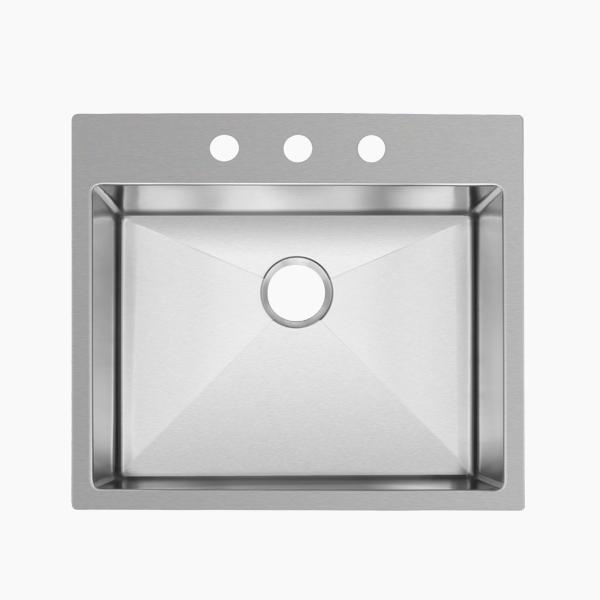 Topmount Single Bowl Sink-AR2522D