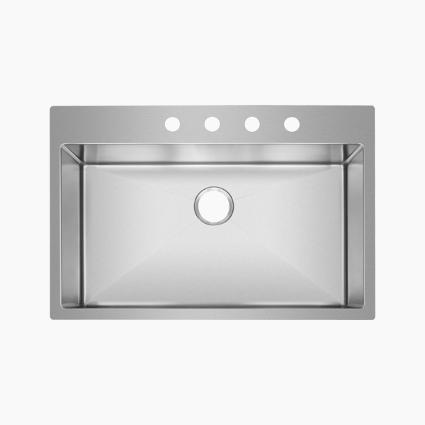 Topmount Single Bowl Sink-AR3322D