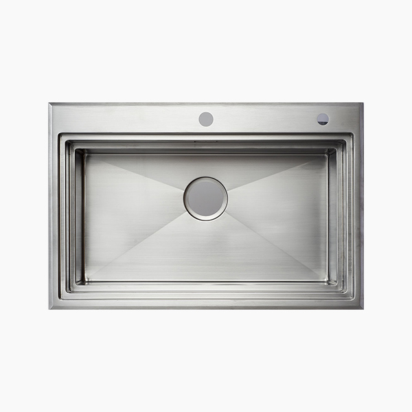 Topmount Single Bowl Sink -AR7650F2X