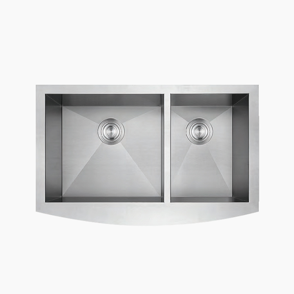 Double Bowl Apron Sink-B3320CE