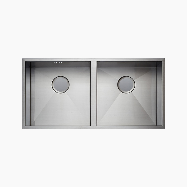 Under Mount Double Bowl Sink -B8144P