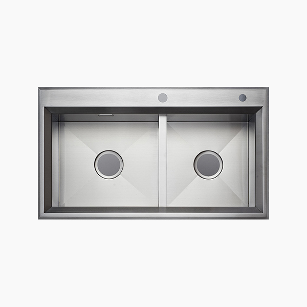 Topmount Double Bowl Sink -B8650XX