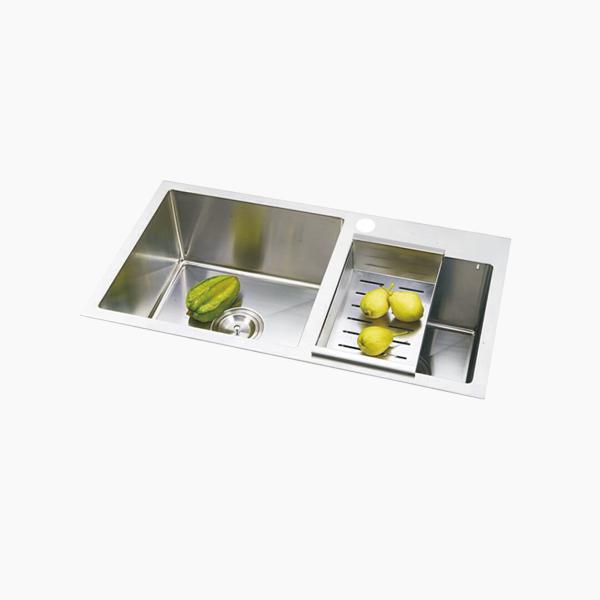 Topmount Double Bowl Sink -BR8250T2